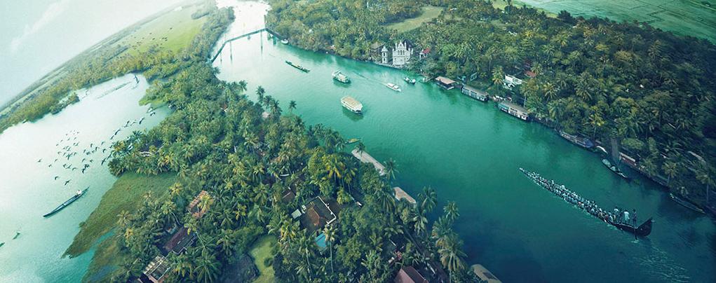 9Nts Cochin Munnar Periyar Kumarakom Houseboat Kovalam  Kanyakumari